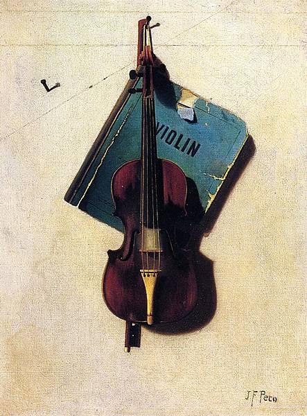 John Frederick Peto (1854-1907)-Violin - (John Frederick Peto - circa 1891-1894)