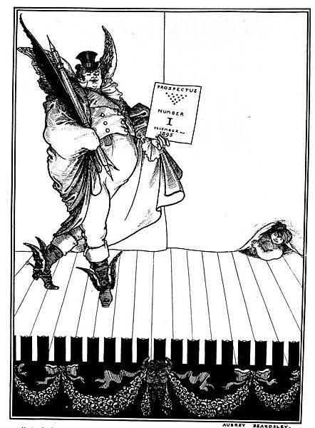 Aubrey Beardsley (1872-1898)-The_Savoy,_Prospectus_No._1