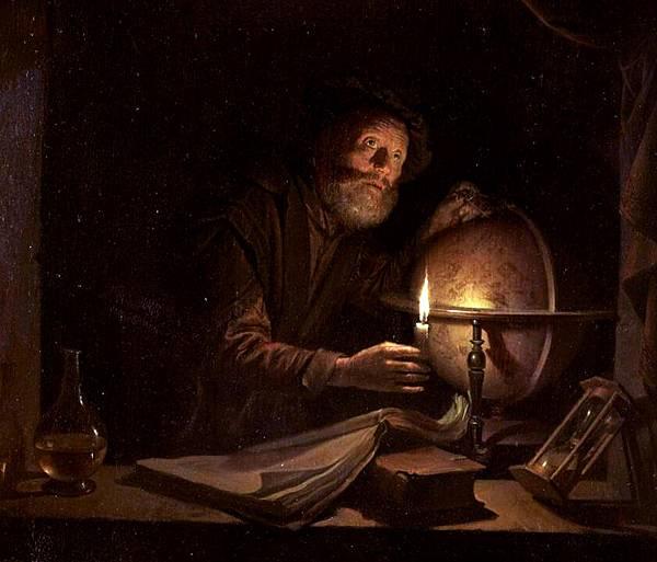 Gerrit Dou (1613-1675)-astronom