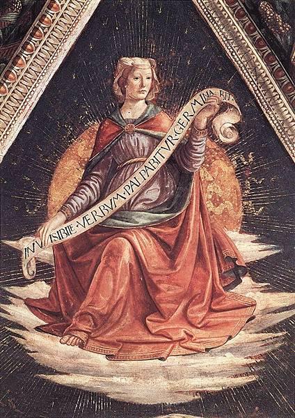 Ghirlandaio, Domenico   Sibyl, ca.1485