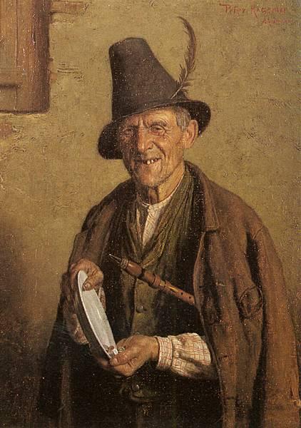 Peter Kraemer II (1857-1936)-Peter Kraemer Tyrolean_Musicians
