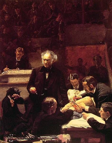 Thomas Eakins (1844-1916)-The Gross Clinic