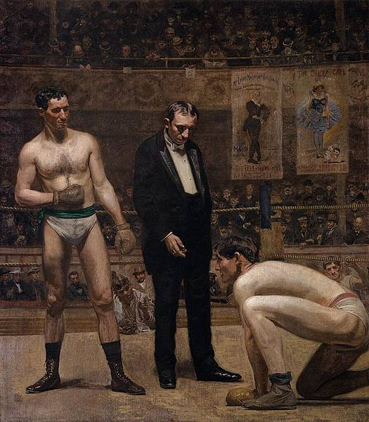 Thomas Eakins (1844-1916)-Eakins_Thomas_Taking_the_Count