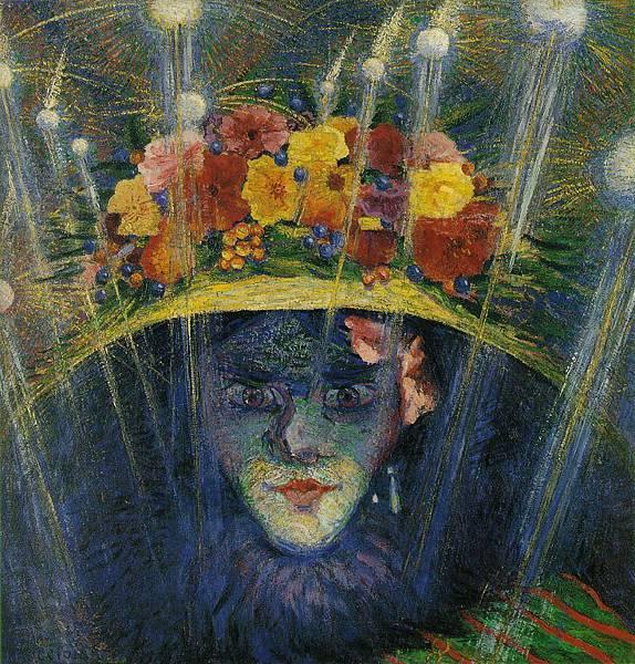 Umberto Boccioni (1882-1916)-boccioni_modern_idol