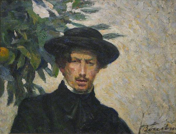 Umberto Boccioni Self-portrait 1905