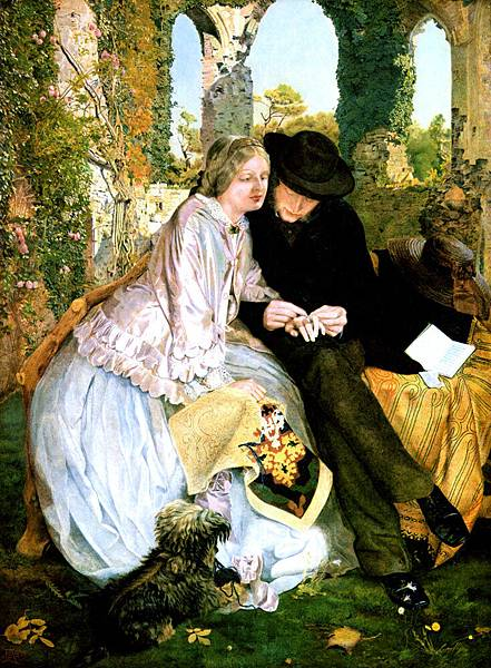 Michael Frederick Halliday (1822-1869) The Measure for the Wedding Ring