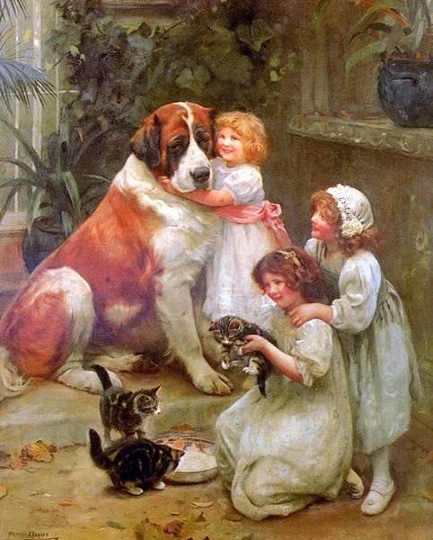 Arthur John Elsley (1861-)_Family_Favourites