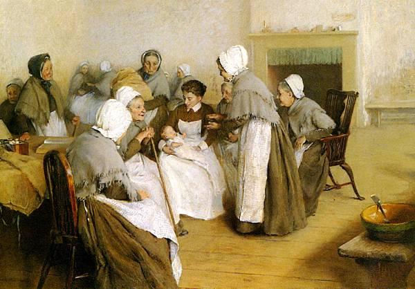 Arthur Alfred Burrington (1856-1925)_The_New_Baby