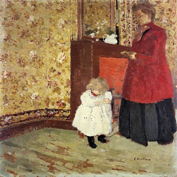 Edouard Vuillard (1868-1940)-Mother and Child