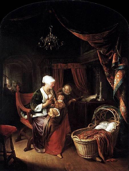 Gerrit Dou (1613-1675)-young_mo