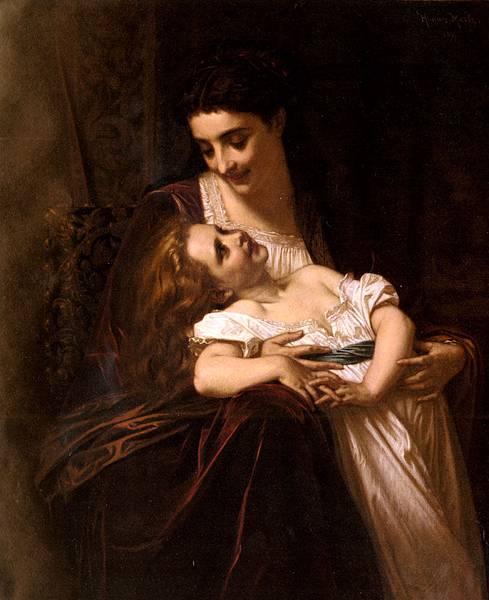 Hughes Merle (1823-1881)-Merle_Hughes_Maternal_Affection
