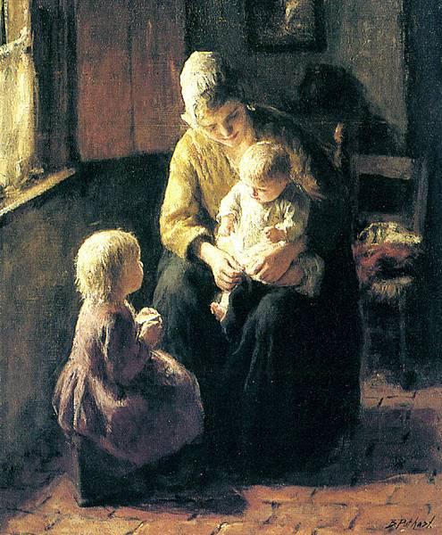 Jacob Simon Hendrik Kever (1854-1922)_Minding_The_Baby
