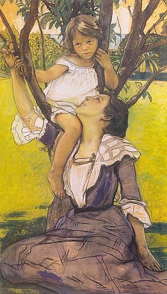 William Sergeant Kendall (American, 1869-1938) Fairy Tale (1900)