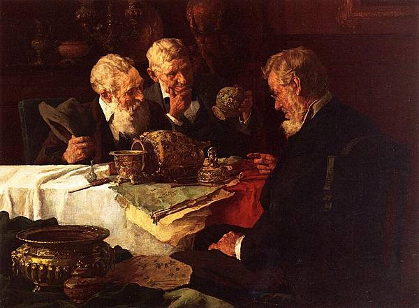 Louis Charles Moeller (1855-1930)-The Appraiser