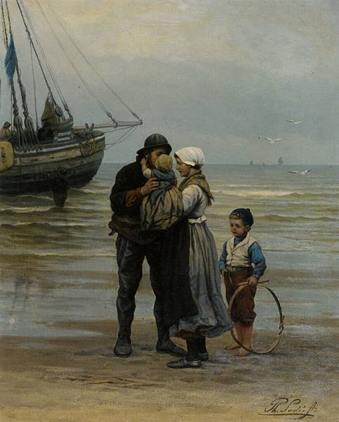 Sadee_Philippe_Lodewijk_The_Farewell_Oil_on_Canvas-huge