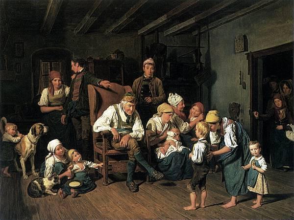 Ferdinand_Georg_Waldmüller_Grandfathers_Birthday_1849
