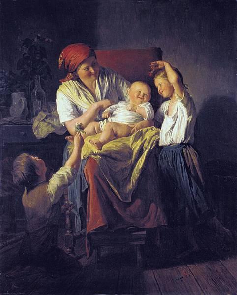 Waldmüller_-_Mutterglück1