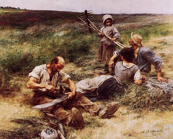 The Haymakers - (Leon Augustin Lhermitte - 1887).jpg