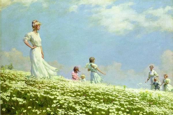 Charles Courtney Curran (1861-1942)-Summer.jpg