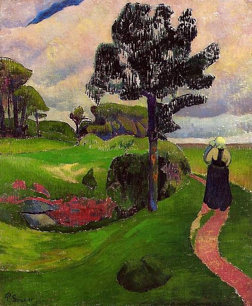 Paul Serusier (1864-1927) Mother and Child on a Breton Landscape.jpg