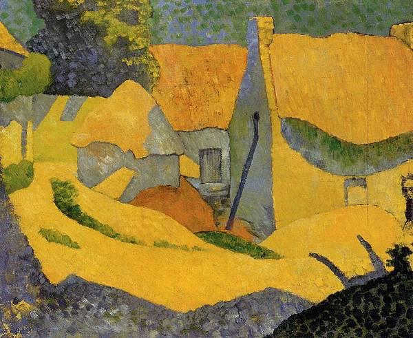 Paul Serusier (1864-1927) Yellow Farm at Pouldu.jpg