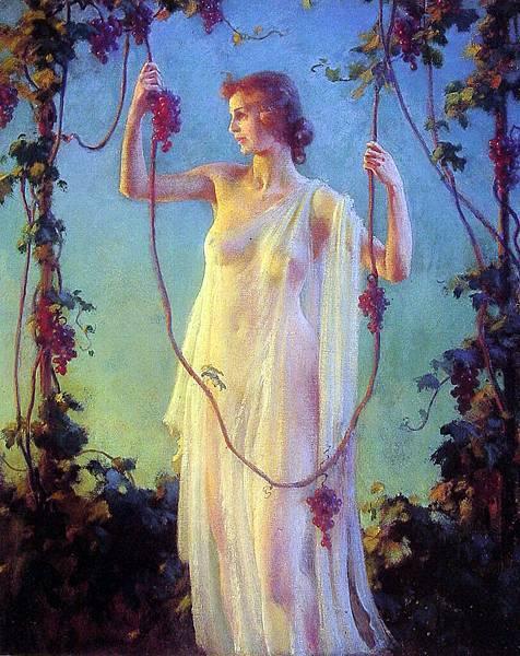Charles Courtney Curran (1861-1942)-Fall_Sunshine.jpg