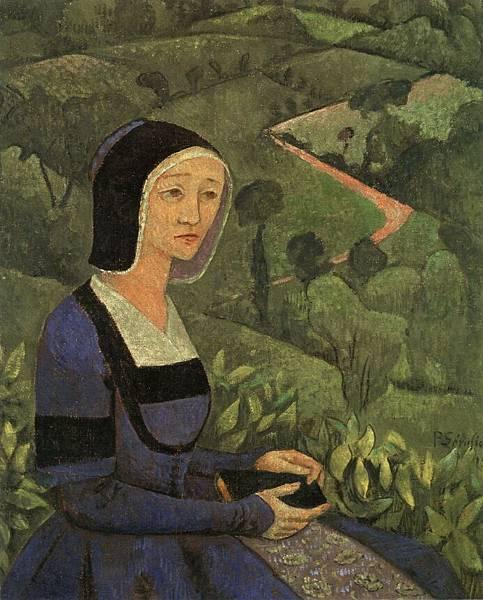Paul Serusier (1864-1927) A Widow.jpg