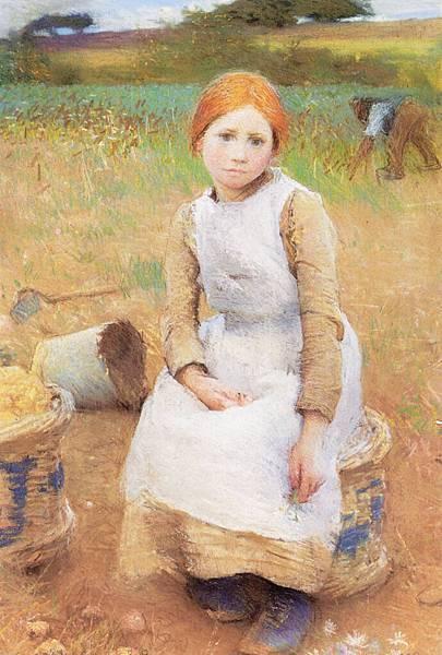 George Clausen (1852-1944) Sir George Clausen (1852-1944) Clausen_Little_Rose.jpg
