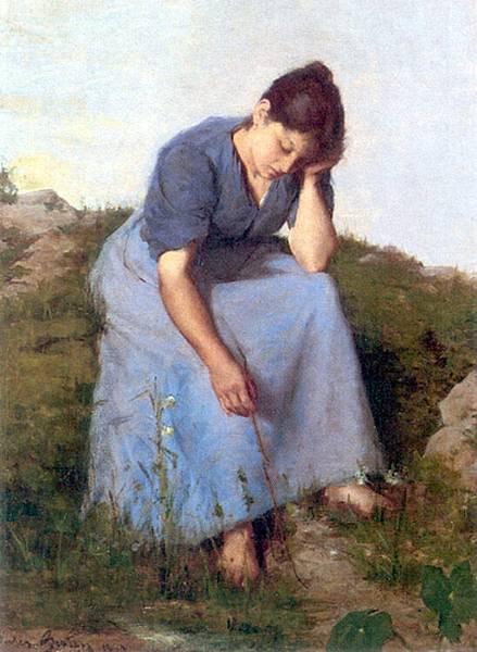 Jules Breton (1827-1906) Breton_Jules_Young_Woman_in_a_Field.jpg