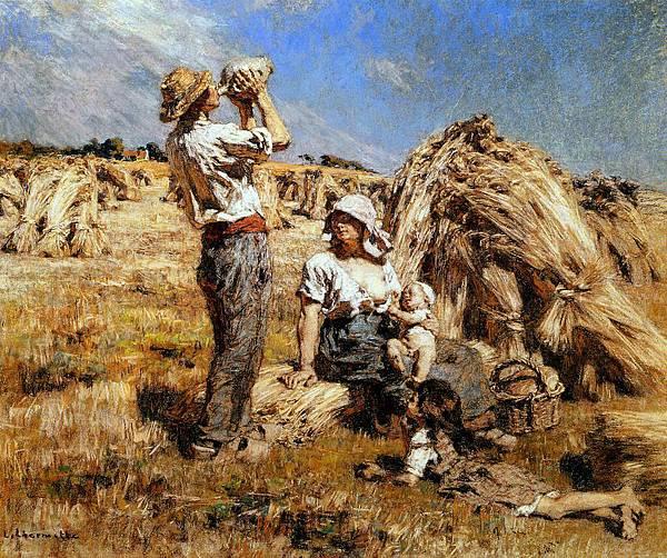 Motherhood - (Leon Augustin Lhermitte - circa 1876).jpg