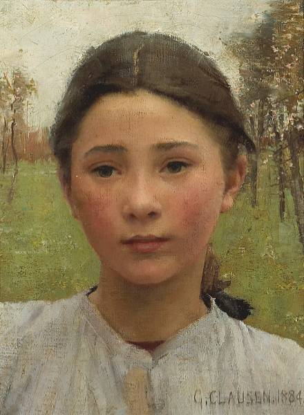 George Clausen (1852-1944) sir-george-clausen-the-head-of-a-young-girl.jpg