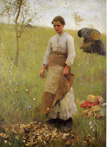 George Clausen (1852-1944) The Stone Pickers.jpg