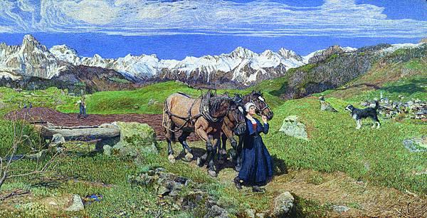 Giovanni Segantini (1858-1899)  Springtime in the Alps.jpg