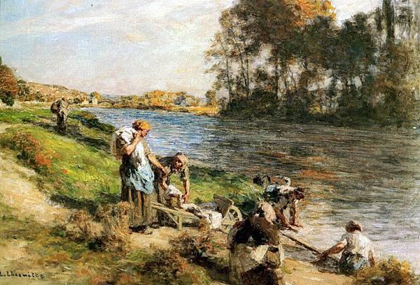 Leon Augustin L'hermitte (1844-1925)-Lhermitte_Leon_Augustin_Lavandieres_Au_Bord_De_La_Marne.jpg
