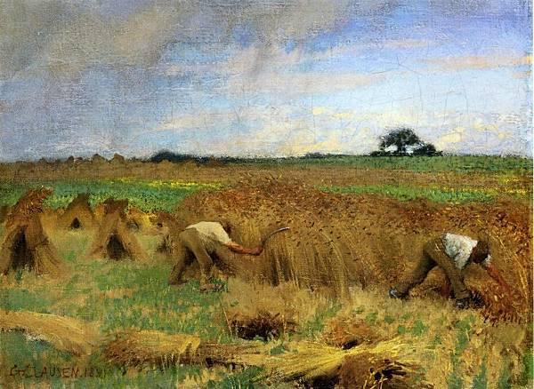 George Clausen (1852-1944) Reapers.jpg