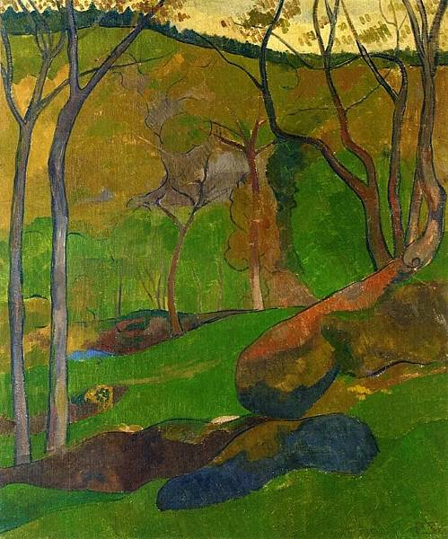 Paul Serusier (1864-1927) Undergrowth at Huelgoat.jpg