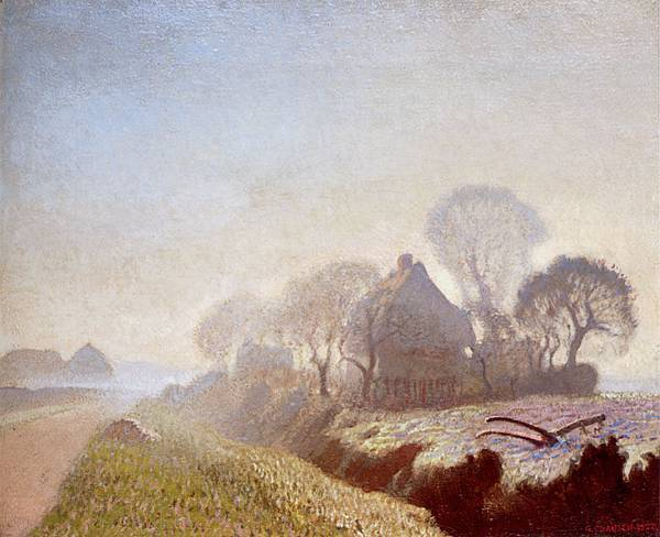 George Clausen (1852-1944) Sir George Clausen (1852-1944)_Morning_In_November.jpg