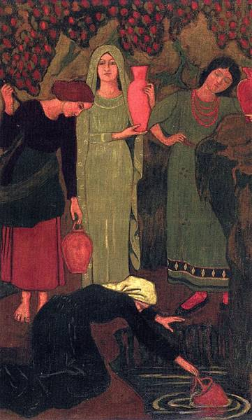 Paul Serusier (1864-1927) The Wait at the Well.jpg