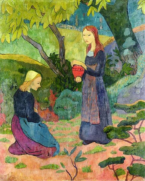 Paul Serusier (1864-1927) Madeline with the Offering.jpg