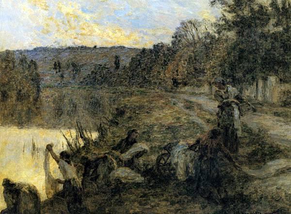 Leon Augustin L'hermitte (1844-1925)-Lhermitte_Leon_Augustin_Laveuses_Au_Soir.jpg