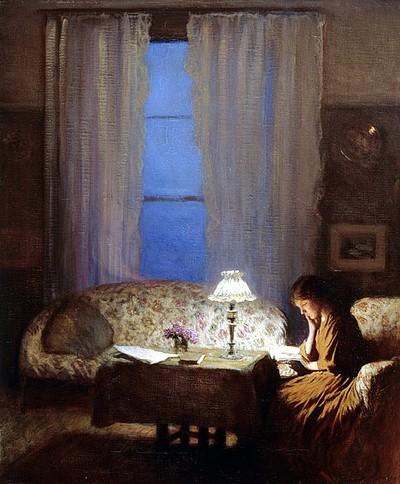 George Clausen (1852-1944) Twilight 1909.jpg