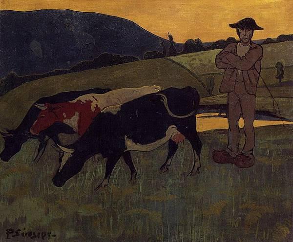 Paul Serusier (1864-1927) Peasant with Three Crows.jpg