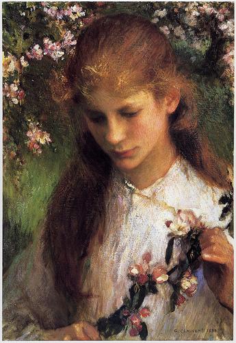 George Clausen (1852-1944) George-Clausen--Apple-Blossom.jpg