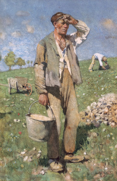 George Clausen (1852-1944) Stone Pickers (midday).jpg