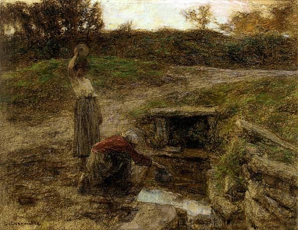 Lhermitte_Leon_Augustin_Femmes_a_la_Fontaine_1903_Pastel_On_Paper_On_Canvas-huge.jpg