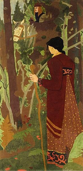Paul Serusier (1864-1927) The Fairy and the Knight.jpg