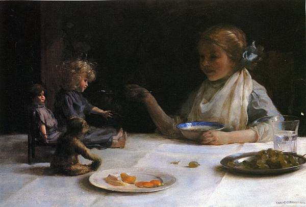Charles Courtney Curran-The Breakfast Party.jpg