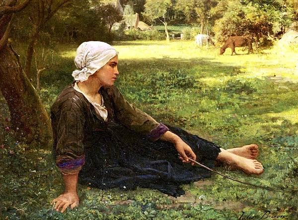 Jules Breton (1827-1906) Breton_Jules_Juene_Fille_Gardant_Des_Vaches.jpg