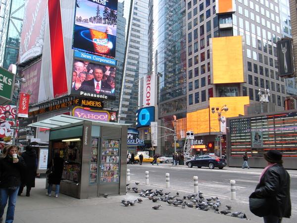 Time Square附近