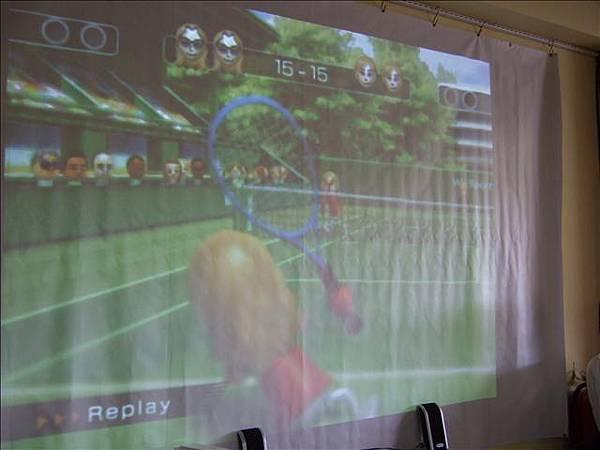 Wii Sports之網球